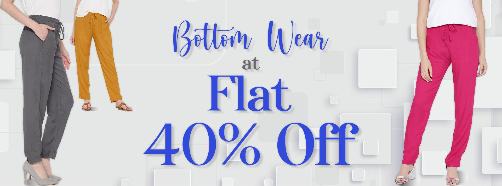Sale On Bottom Wear