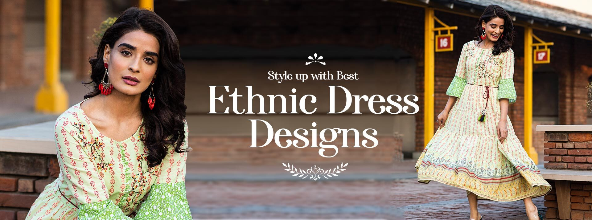Style Up with Best Ethnic Dress Designs This Summer