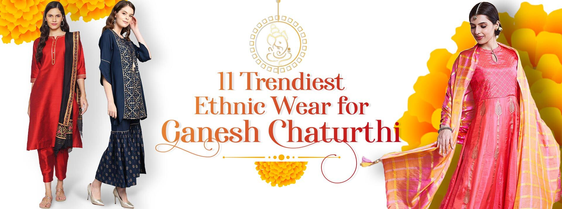 Ethnic Wear for Ganesh Chaturthi