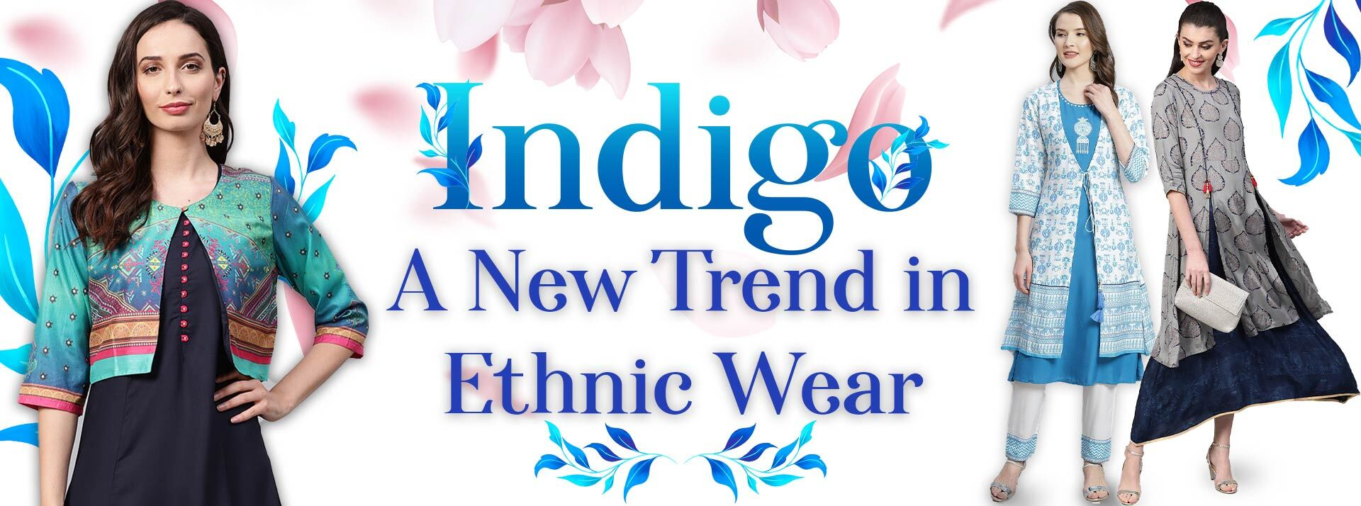 Indigo Dresses: A New Trend in Ethnic Wear